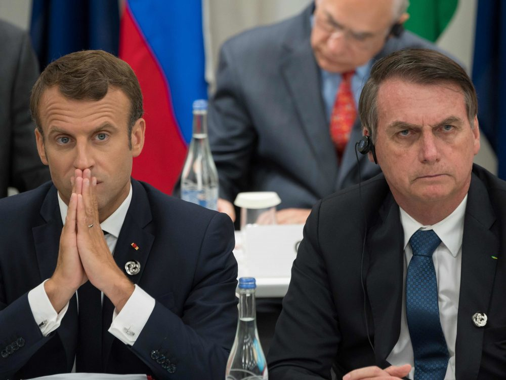 Bolsonaro rejects G7 offer of $22m aid over Macron's personal attack