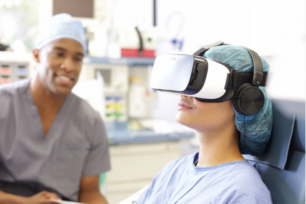 VR Headset had Been provided To Women In Labor