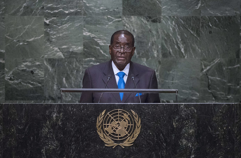 Robert Mugabe, the Eternal President of Zimbabwe