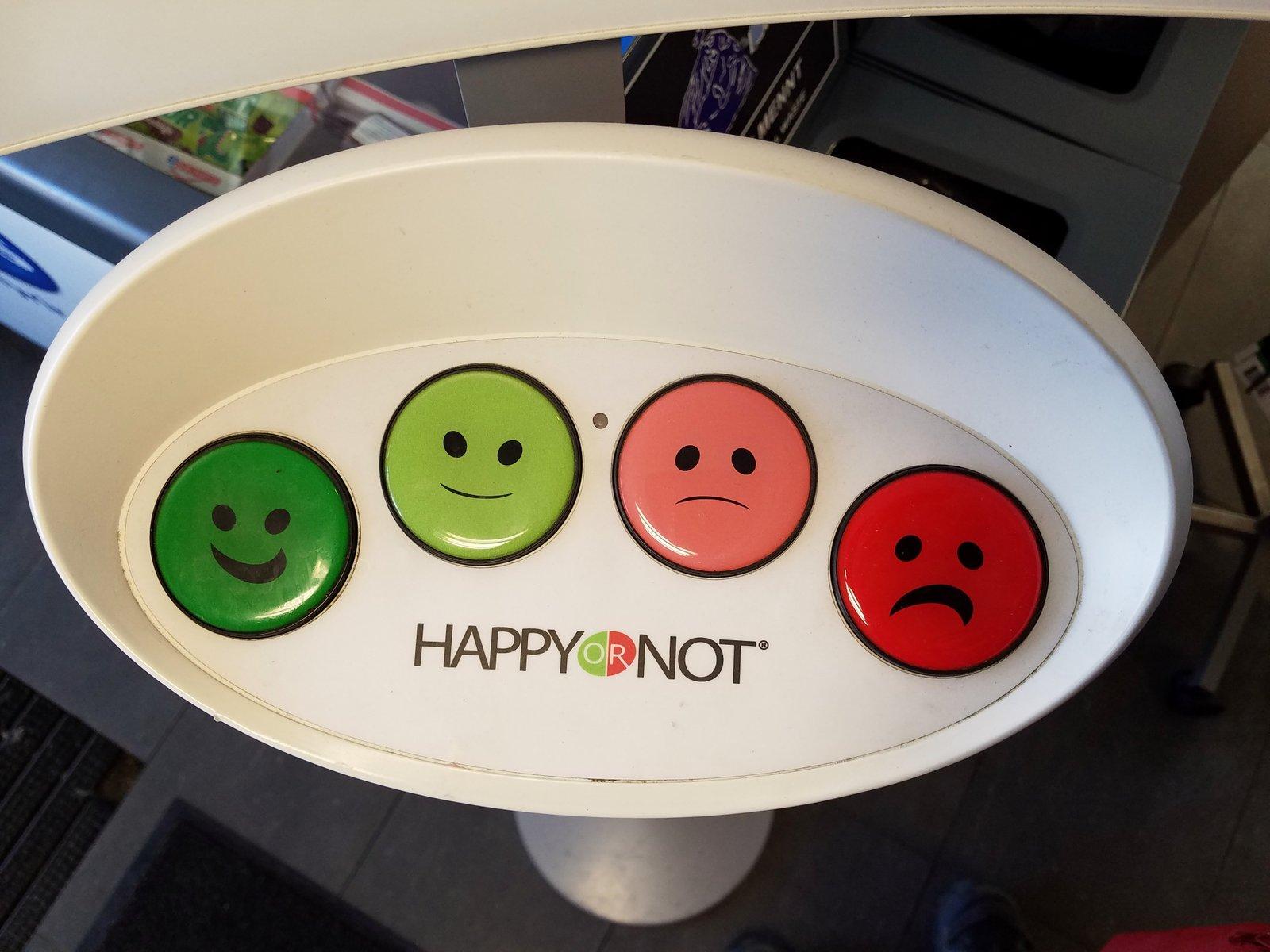 HappyOrNot Customer service