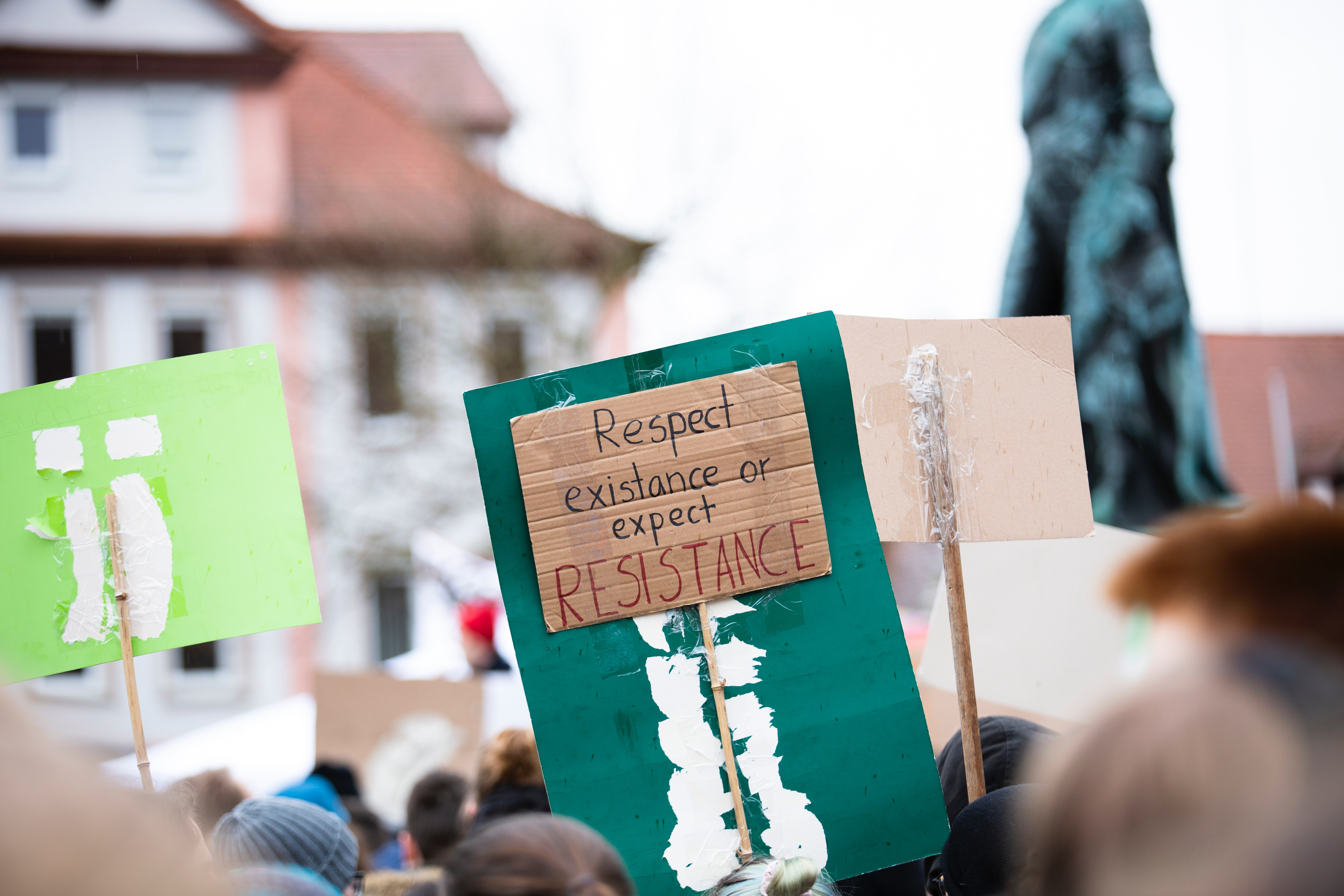 Global warming worldwide protest