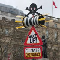 extinction rebellion protests in london for climate change control