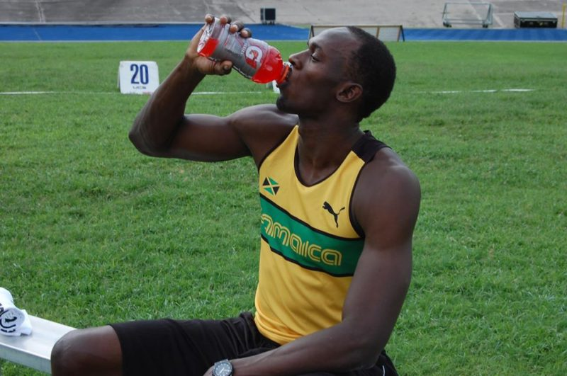 Usain Bolt selects three football players for his dream 4x100m relay race
