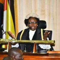 Kadaga speaks to the MPs about the COVID-19 cure