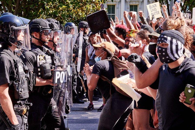 George Floyd: Huge Protests Against Racism Held Across US