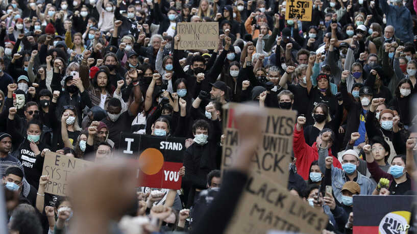 George Floyd: Australians Defy Virus In Mass Anti-Racism Rallies
