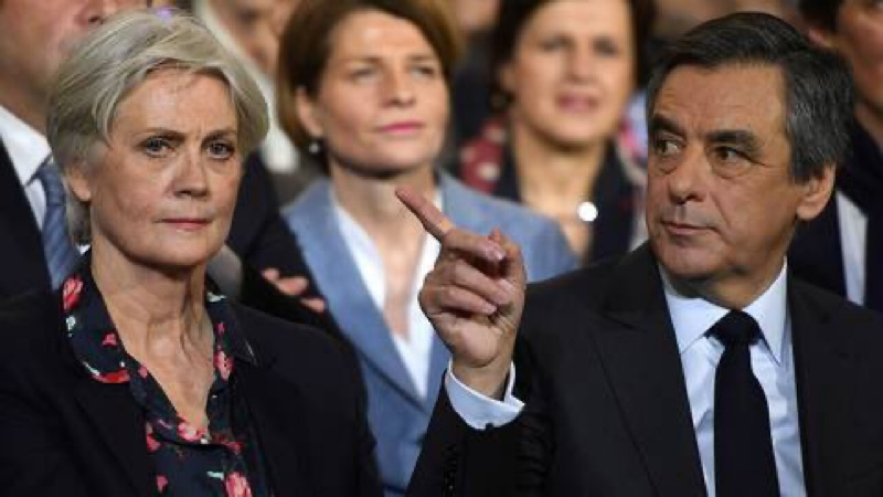 Former French PM Fillon sentenced to jail for embezzling public funds