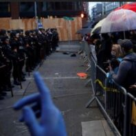 Seattle protest: Police and anti-racism demonstrators clash at a march