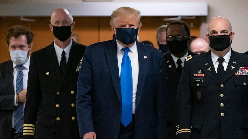 Donald Trump Vows Not To Order Americans To Wear Facemasks