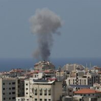 Israeli military Carries Out Air Strike On Gaza Over Balloon Bombs, Rockets