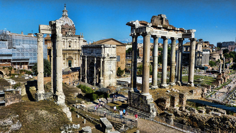 Ancient Structures Foro Romano