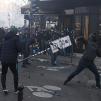 France: Tear as Fired As Protesters Rally Against Police Security Bill