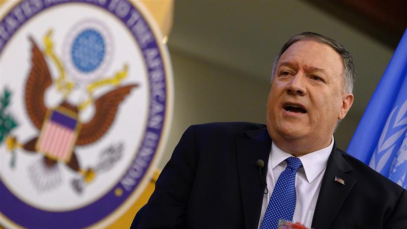 US To Lift Restrictions On Contacts With Taiwan, Says Pompeo