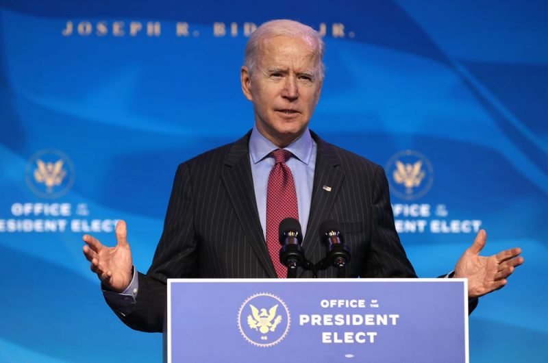 Joe Biden Lays Out Plan To Get America Vaccinated