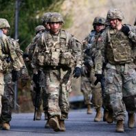 The US army has decided to go ahead with the troops' drawdown in Afghanistan, the Defense Department said on Monday.