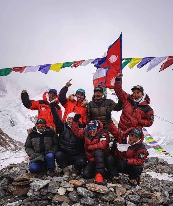 K2 Summit accomplished in Winters