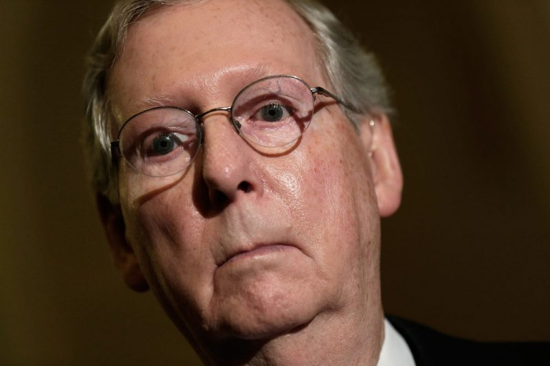 "Donald Trump Attacks ""Dour"" Leader Mitch McConnell"