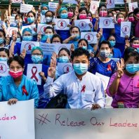 Myanmar Coup: Teachers Join Growing Protests Against Military