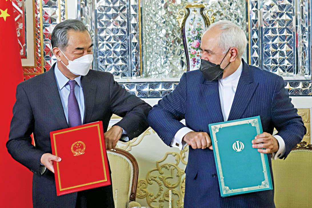 Iran and China sign 25-year cooperation agreement