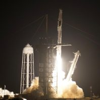 SpaceX had successful launch after postponement due to bad offshore weather