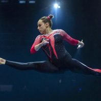 German gymnast's outfit takes on sexualization in sport