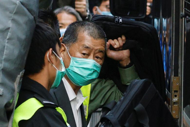 Hong Kong tycoon Jimmy Lai among three pleading guilty to illegal assembly