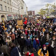 Protests erupt after Germany's highest court rejects a rent limit in Berlin