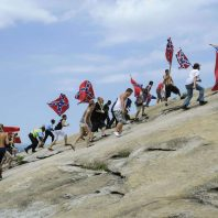 Stone Mountain Park refuses to grant a permit for a Confederate event