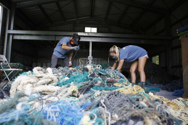 A study is looking into the origins of the ghost nets that haunt the shores of Hawaii